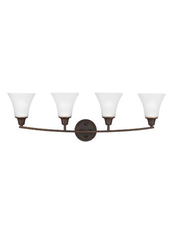 Sea Gull Lighting - Four Light Wall/ Bath Sconce - 4413204-715