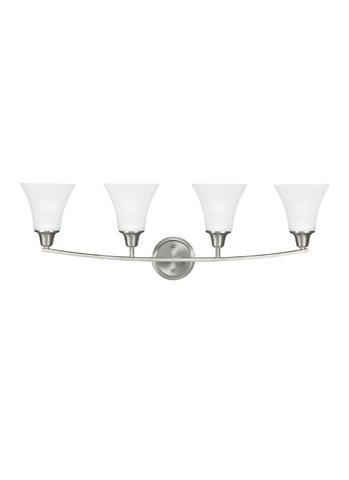 Sea Gull Lighting - Four Light Wall/ Bath Sconce - 4413204BLE-962