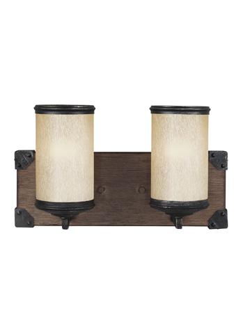 Sea Gull Lighting - Two Light Wall / Bath Sconce - 4413302BLE-846