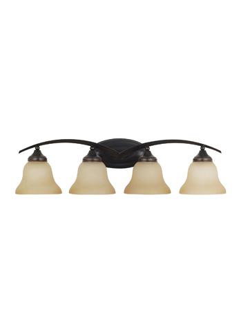 Sea Gull Lighting - Four Light Wall / Bath Sconce - 44177-710