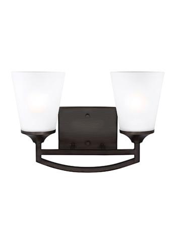 Sea Gull Lighting - Two Light Wall / Bath Sconce - 4424502-710