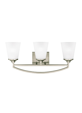 Sea Gull Lighting - Three Light Wall / Bath Sconce - 4424503BLE-962