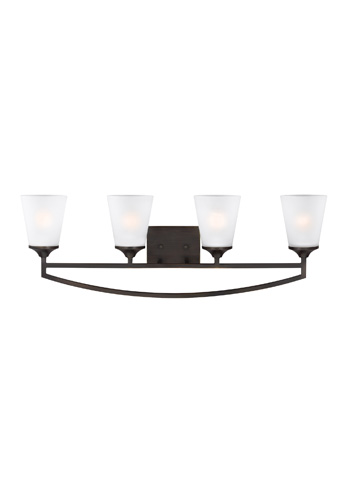 Sea Gull Lighting - Four Light Wall/ Bath Sconce - 4424504-710