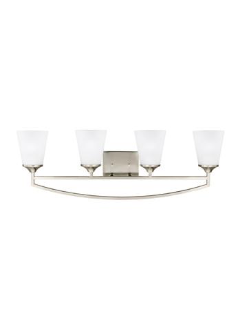 Sea Gull Lighting - Four Light Wall/ Bath Sconce - 4424504BLE-962
