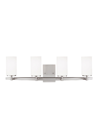 Sea Gull Lighting - Four Light Wall / Bath Sconce - 4424604BLE-962