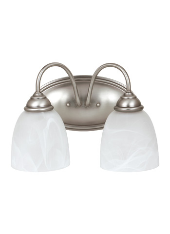 Sea Gull Lighting - Two Light Wall / Bath Sconce - 44317-965