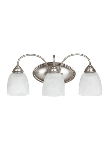 Sea Gull Lighting - Three Light Wall / Bath Sconce - 44318BLE-965