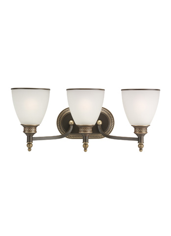 Sea Gull Lighting - Three Light Wall / Bath Sconce - 44351-708
