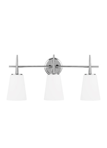 Sea Gull Lighting - Three Light Wall / Bath Sconce - 4440403-05