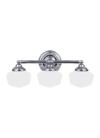 Sea Gull Lighting - Three Light Wall / Bath Sconce - 44438-05