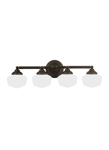 Sea Gull Lighting - Four Light Wall / Bath Sconce - 44439-782