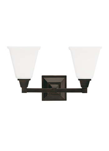 Sea Gull Lighting - Two Light Wall / Bath Sconce - 4450402BLE-710