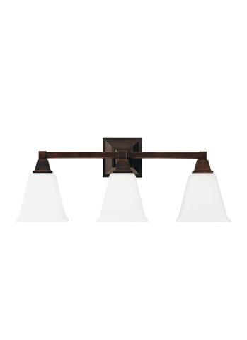 Sea Gull Lighting - Three Light Wall / Bath Sconce - 4450403-710