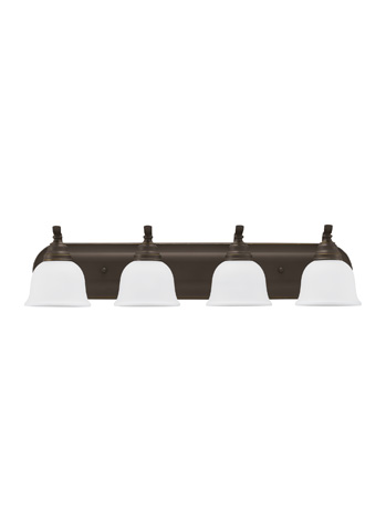 Sea Gull Lighting - Four Light Wall / Bath Sconce - 44628-782