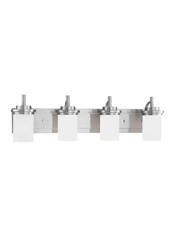 Sea Gull Lighting - Four Light Wall / Bath Sconce - 44663-962
