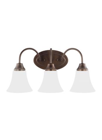Sea Gull Lighting - Three Light Wall / Bath Sconce - 44807-827
