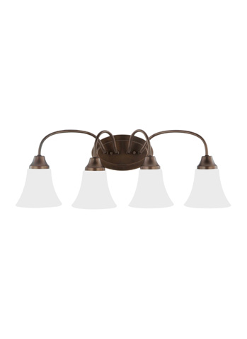 Sea Gull Lighting - Four Light Wall / Bath Sconce - 44808-827