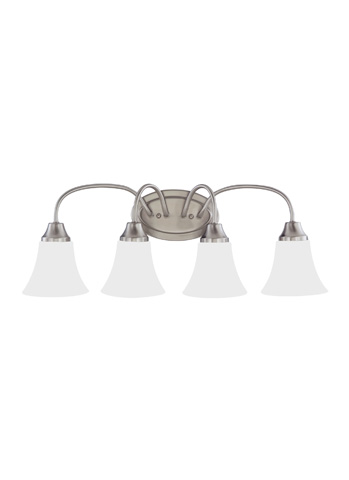 Sea Gull Lighting - Four Light Wall / Bath Sconce - 44808-962