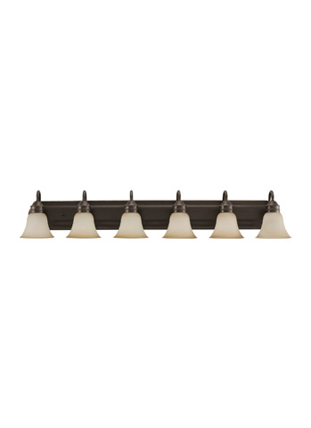 Sea Gull Lighting - Six Light Wall / Bath Sconce - 44855-782