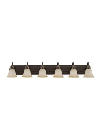 Sea Gull Lighting - Six Light Wall / Bath Sconce - 44855BLE-782