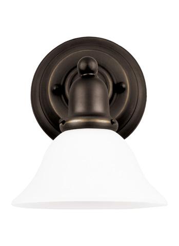Sea Gull Lighting - One Light Wall / Bath Sconce - 49063BLE-782