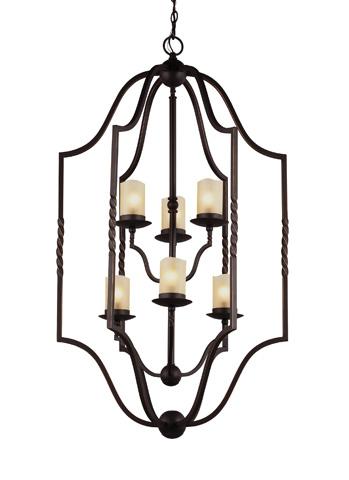 Sea Gull Lighting - Six Light Hall / Foyer Pendant - 5110606-191