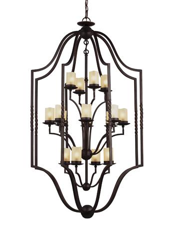 Sea Gull Lighting - Sixteen Light Hall / Foyer Pendant - 5110616-191