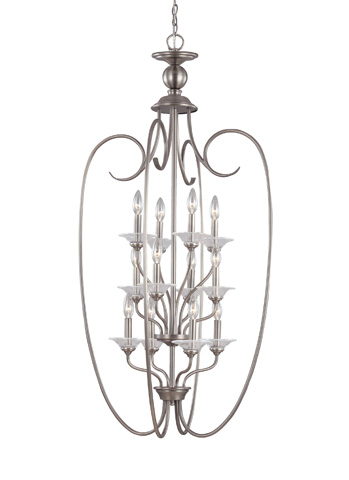 Sea Gull Lighting - Twelve Light Hall / Foyer Pendant - 51318-965