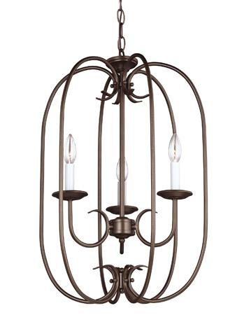 Sea Gull Lighting - Three Light Hall / Foyer Pendant - 51806-827