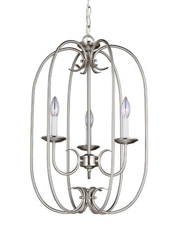 Sea Gull Lighting - Three Light Hall / Foyer Pendant - 51806-962