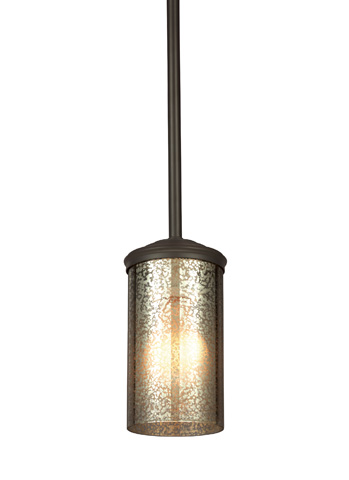 Sea Gull Lighting - One Light Mini-Pendant - 6110401BLE-715