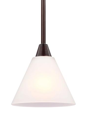 Sea Gull Lighting - One Light Mini-Pendant - 6111201-710