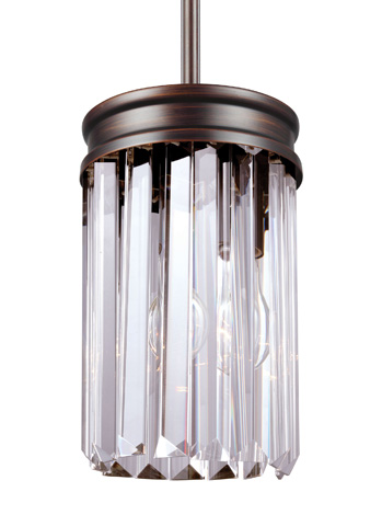 Sea Gull Lighting - One Light Mini-Pendant - 6114001-710