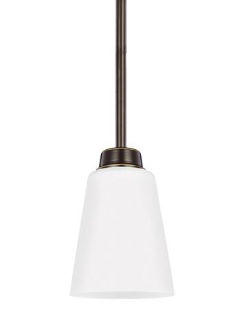 Sea Gull Lighting - One Light Mini-Pendant - 6115201BLE-782