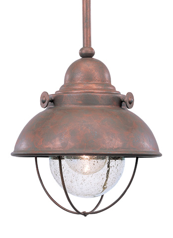 Sea Gull Lighting - One Light Outdoor Mini-Pendant - 6150-44