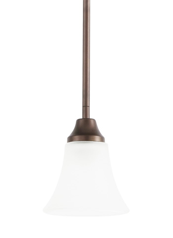 Sea Gull Lighting - One Light Mini-Pendant - 61806-827