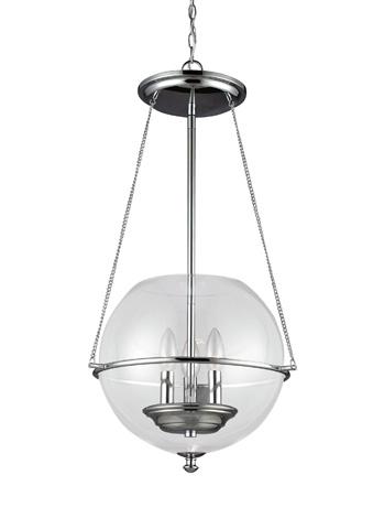 Sea Gull Lighting - Three Light Pendant - 6511903-05