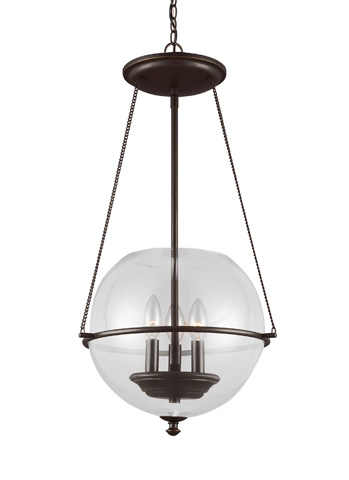 Sea Gull Lighting - Three Light Pendant - 6511903-715