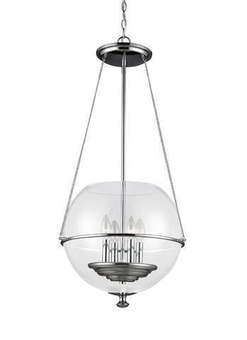 Sea Gull Lighting - Four Light Pendant - 6511904-05