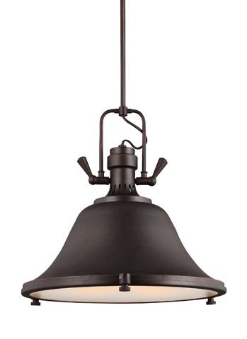 Sea Gull Lighting - Three Light Pendant - 6514403BLE-710