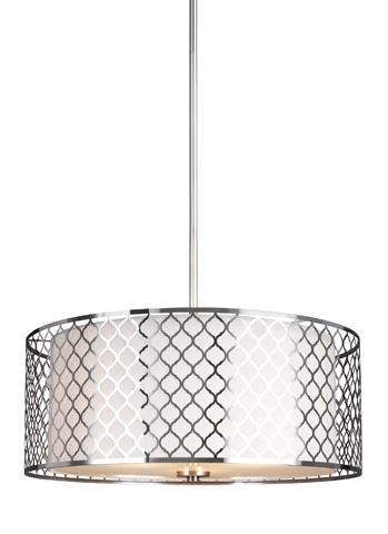 Sea Gull Lighting - Three Light Pendant - 6515503BLE-962