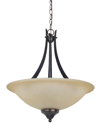 Sea Gull Lighting - Three Light Pendant - 65175-710