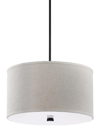 Sea Gull Lighting - Three Light Pendant - 65263BLE-710