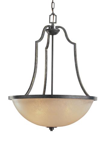 Sea Gull Lighting - Three Light Pendant - 65521BLE-845