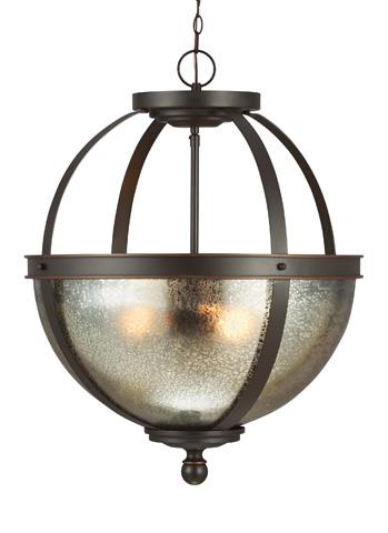 Sea Gull Lighting - Three Light Pendant - 6610403BLE-715
