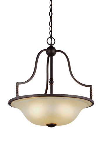 Sea Gull Lighting - Three Light Pendant - 6610603-191