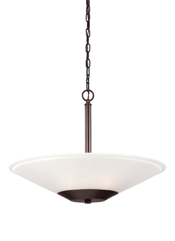 Sea Gull Lighting - Three Light Pendant - 6611203BLE-710
