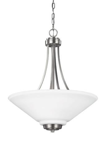 Sea Gull Lighting - Three Light Pendant - 6613003-962