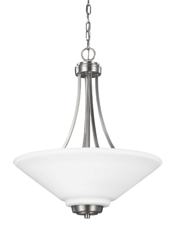 Sea Gull Lighting - Three Light Pendant - 6613003BLE-962