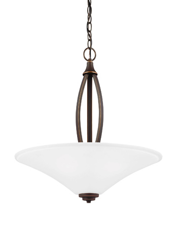 Sea Gull Lighting - Three Light Pendant - 6613203BLE-715